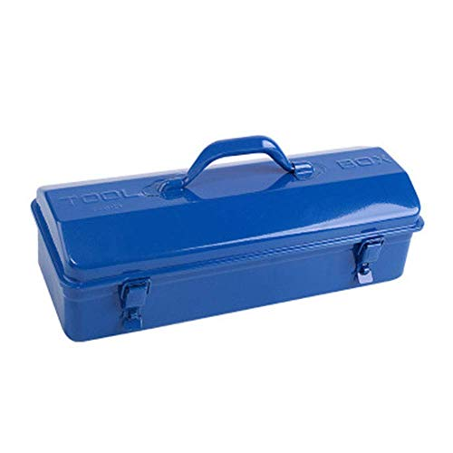 Metal Hierro almacenamiento estilo antiguo - pequeña caja de herramientas - granero de metal Caja de Herramientas - Mecanicos Hardware Herramienta Caja de almacenamiento, 35 veces; 18times; 10CM (tama