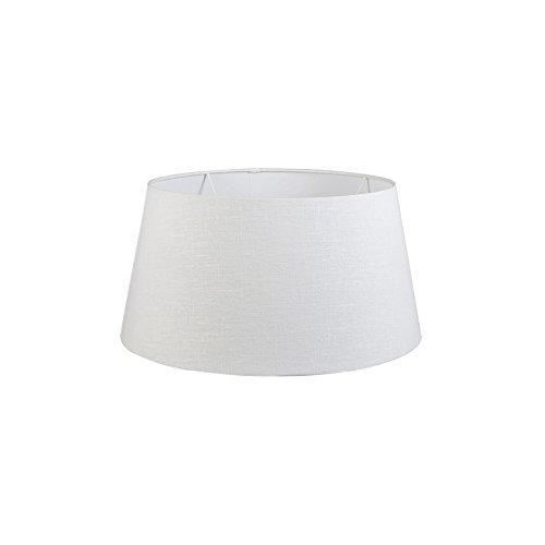 QAZQA Moderno Lino Pantalla lino blanco 50/40/26, Redonda/Cónica Pantalla lámpara de pie