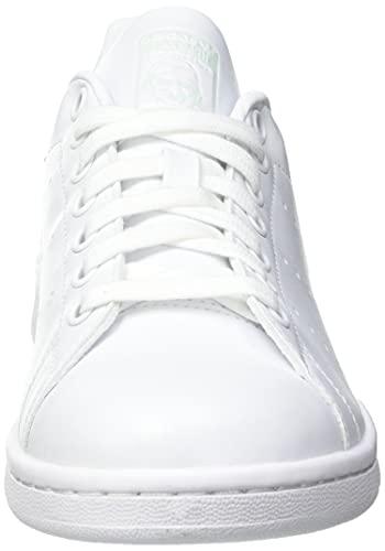 adidas Stan Smith, Sneaker Mujer, Footwear White/Dash Green/Core Black, 40 EU