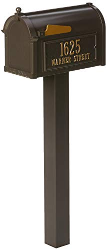 Whitehall Products Premium Mailbox Package-French Bronze
