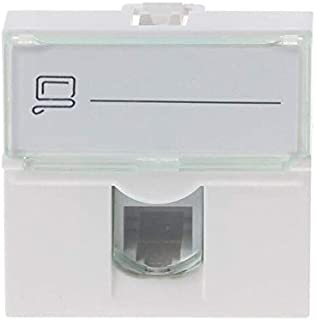 Computer Cables & Connectors - Network Module Information Socket RJ45 8P8C Connector Adapter Keystone Jack Standard Wall P...