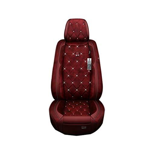 SZ JIAOJIAO voor autostoel volledige set - Auto voor- en achterbank-beschermhoezen compatibel met Volvo XC40, XC60, XC70, XC90, S40, S60, S80, S90, V40, V60, V70, V90,1,XC70