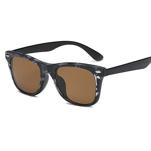 YTYASO Anteojos de Hombre Moda Clip de computadora óptica en Montura de Gafas Gafas de Ojo Lisas