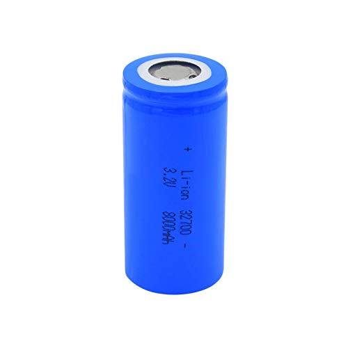 josiedf 3.2v 8000mah 32700 Lithium Li-Ion Batteries, Rechargeable Battery for Scooter Power Tool 1Pieces
