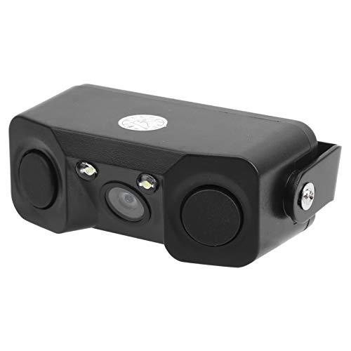 Shipenophy Cámara Trasera con Radar Cámara de visión Trasera antichoque Resistente y reconocible para conducción Nocturna para Mejorar la Apariencia