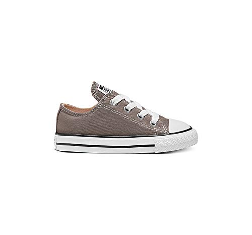 Converse Boys' All Star Ox – Charcoal – 2.5