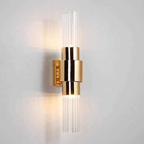 MKXF Lámpara de Sala de Estar Lámpara de Dormitorio Lámpara de Noche Escaleras Pasillo Lámpara de Pared de Vidrio Luz de Patio