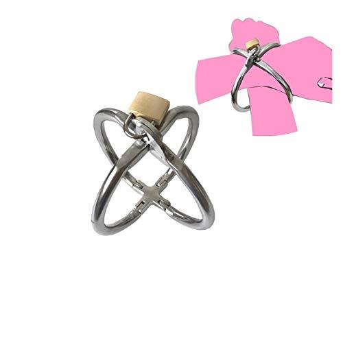 Cinturn de cintura corporal Hebilla de acero inoxidable Enlace Metal Accesorios de metal con bloqueos de bloqueo para Polica Play Traje Traje de Halloween Adultos Nios Juega Juguete Fuego Vestido D