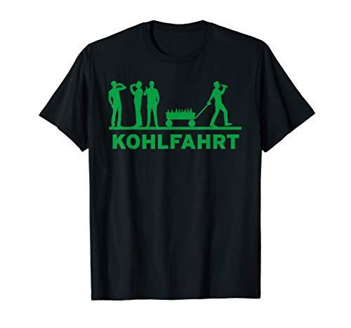 Kohlfahrt Bollerwagen Pinkel T-Shirt