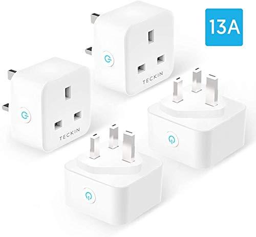 Teckin WiFi Smart Plug (UK) (4-pack) (from Amazon.co.uk)