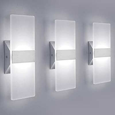 Modern LED Wall Sconce Lighting Fixture Lamps 12W