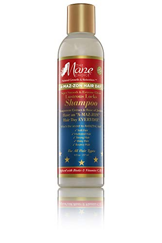 MANE CHOICE A-MAZ-ZON HAIR DAY LUSTROUS LOCKS SHAMPOO 8 FL OZ (Shampoo)