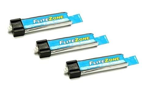 3x Pichler Flite Zone Lipo Akku 180mAh 3,7V für E-flite Blade MCX , MSR X C5515