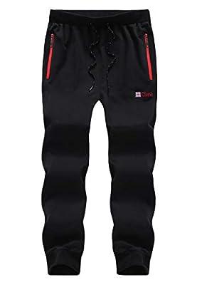 Men's Active Basic Jogger Pants 869 Black US 42 / AS 7XL