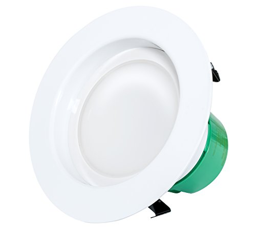 """Westgate RDL4-50K Dimmable Retrofit LED Downlight, 4"""" Round, 15W, 870 Lumens, 5000K Color (Daylight)"""