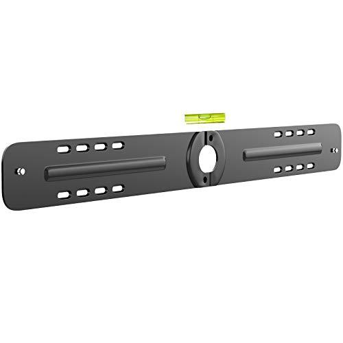BONTEC Lautsprecher-Wandhalterung für Sonos Playbar mit Montagezubehör