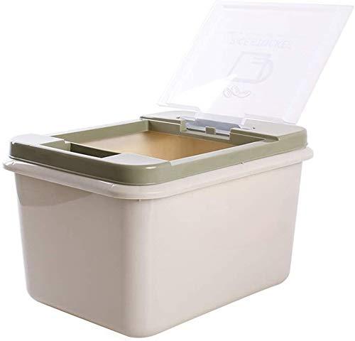 Alimentos for mascotas y Snack Caja de almacenamiento de comida for gatos de almacenamiento Cubo pienso for perros de la caja sellada de almacenamiento Barril Barril comida for gatos caja a prueba de