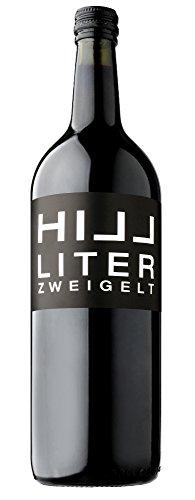 6 Flaschen Hillinger Zweigelt 1 Liter tr. Leo Hillinger im Vorteilspack, trockener Rotwein aus dem Burgenland