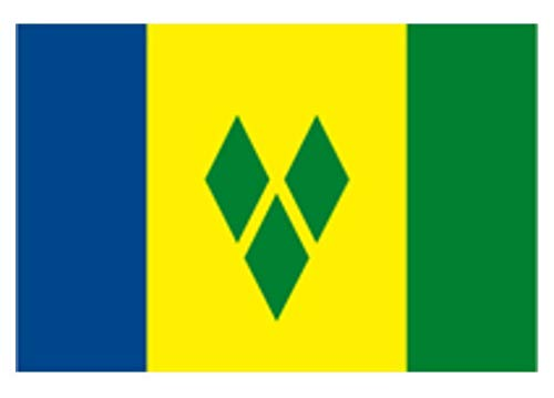 Special Offer....St Vincent & Grenadines Flag 5ft x 3ft by Klicnow