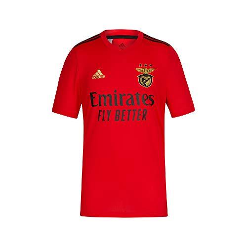 adidas 2020-2021 Benfica Home Football Soccer T-Shirt Jersey (Kids)