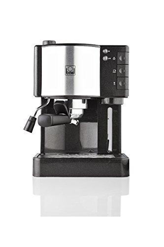 Briel Es 35 Cafetera espresso, 1260 W, Plástico, Negro
