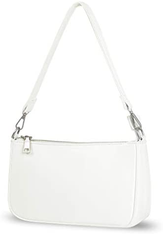 NIUEIMEE ZHOU Small Shoulder bag with 2 Removable Straps Cross Body Clutch Purse Handbag for product image