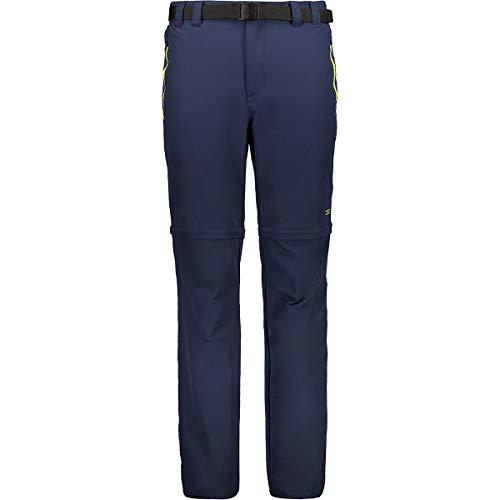 CMP Pantalon de randonnée pour Homme Comfort Fit Zip Off 5XL Corail