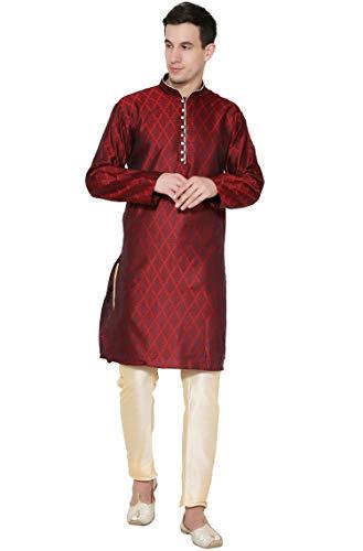 mannen tuniek kurta pyjama ingesteld Indiase traditionele slijtage