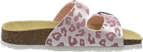 Superfit Mädchen Fussbettpantoffel Pantoffeln, Pink (Rosa 56), 28 EU