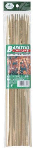 キャプテンスタッグ ( ) ( ) 竹製バーベキュー串角36cm20本入 M-6623
