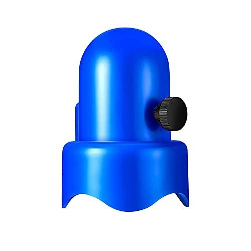 Tapa De Poste De Trampolín Universal, Tapas De Poste De Gabinetes De Trampolín De 1.5 Pulgadas De Diámetro Con Pulgar De Tornillo, Tapa De Seguridad De Poste De Trampolín Duradero Espesado Para Postes
