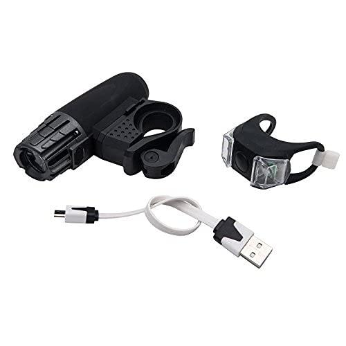 Vélo LED avant Phare pour vélo, Maso 320 lm rechargeable USB LED tactile