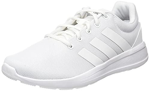 adidas Lite Racer CLN 2.0, Sneaker Hombre, Footwear White/Footwear White/Grey, 42 2/3 EU