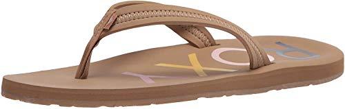 Roxy Women's Vista Sandal Flip-Flop, tan 20, 10 M US