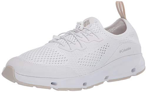 Columbia Vent, Zapatillas de Senderismo Mujer, Blanco (White/Dark Stone 100), 39.5 EU