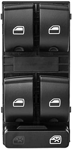 ACYCY Interruptor De Elevalunas Eléctrico para Audi A4 B6 B7 2002-2008, 8E0959851B Interruptor Principal para Elevalunas Eléctricos