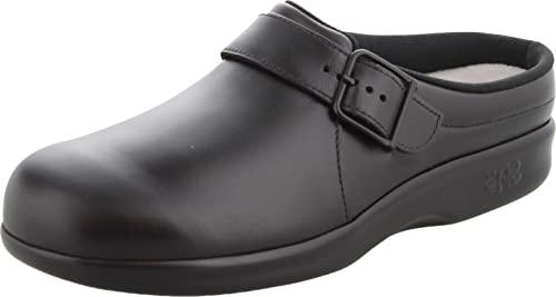 SAS Clog Black 7.5 W - Wide (C)