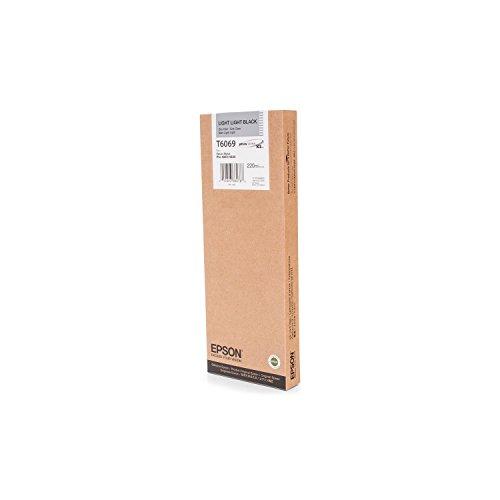 Original Tinte passend für Epson Stylus Pro 4880 Epson T6069, T606900 C13T606900 - Premium Drucker-Patrone - Schwarz hell hell - 220 ml