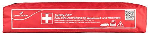 Walser 44204 KFZ Verbandstasche rot Kombi 3 nach KFG 102 Abs. 10