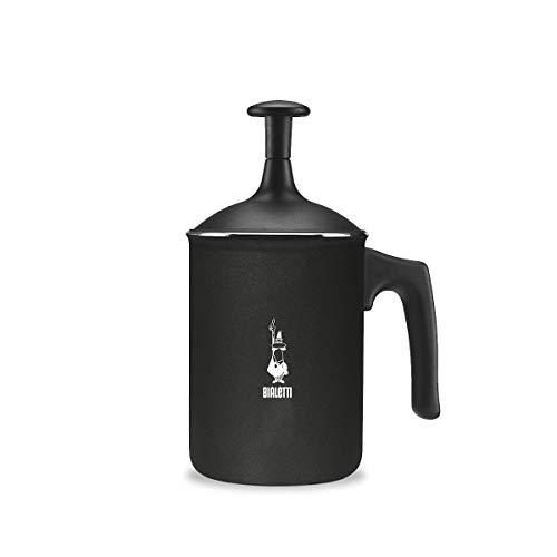 Bialetti 00AGR395 Tutto Crema Milk Frother, Black