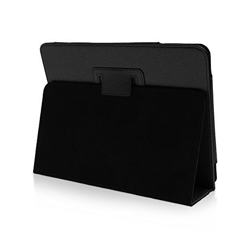 humblebe Klassische Hülle mit Standfunktion für9.7 Apple iPad 1 in SCHWARZ mit automatischer Sleep- und Wake-Up-Funktion [passend für A1219, A1337]