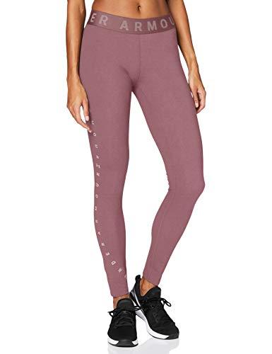 Under Armour Damen Legging Favorite Graphic, Rosa, L