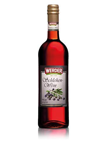 WERDER Schlehen Wein 0,75L - Alk. 9% vol