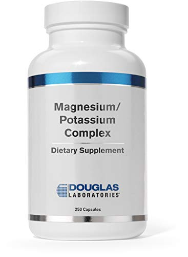 Douglas Laboratories - Magnesium/Potassium Complex - Supports Cardiovascular Health and Skeletal Muscle Contractility - 250 Capsules
