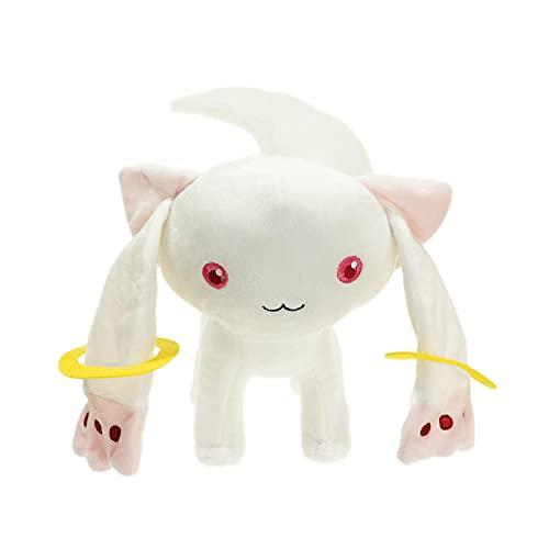 XOMT 23Cm Puella Magi Madoka Peluches Magica Chubby Witch Juguetes De Peluche Suaves Anime Qbay Cat Lindos Muñecos De Peluche Niños Niñas Regalos