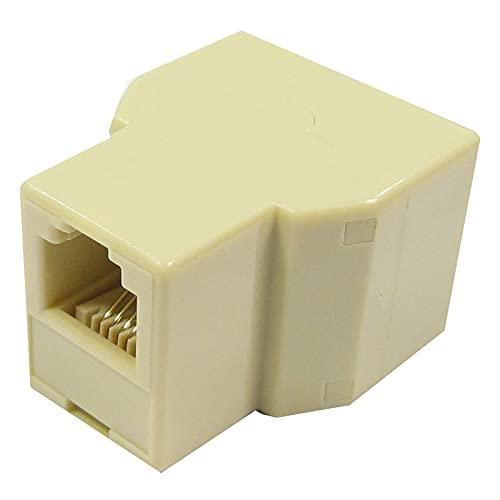 BeMatik - Duplicador RJ11 Compacto (1 RJ11-H a 2 RJ11-H)