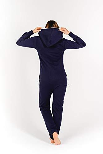 Moniz Damen Jumpsuit, dunkelblau, Größe M - 4