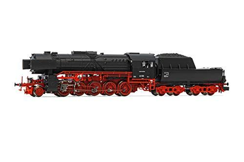 ARNOLD HN2429 Dampflokomotive DB, Dampflokomotive Baureihe 42 in schwarz/roter Lackierung, 42 555, Ep. III