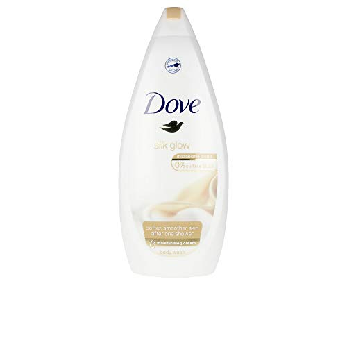 Dove Silk Glow Moisturizing Shower Gel 750ml