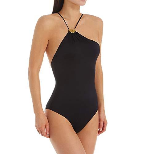 Chantelle Women's Sense Fashion One Piece Swimsuit 14C4 XL Black